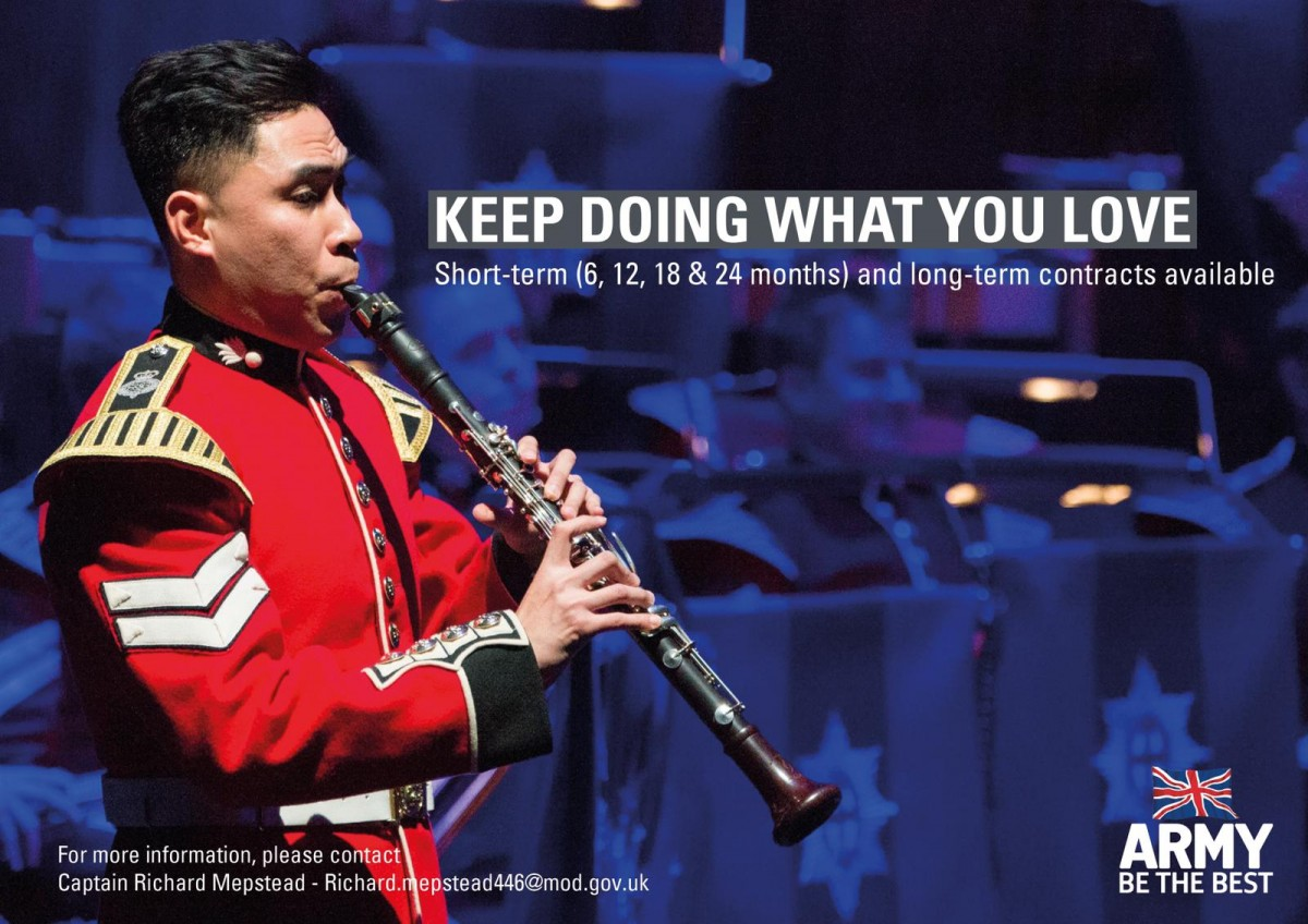 British Army Music aims to help musicians